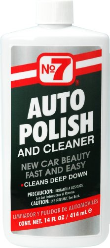 No7 01110 Auto Polish & Cleaner