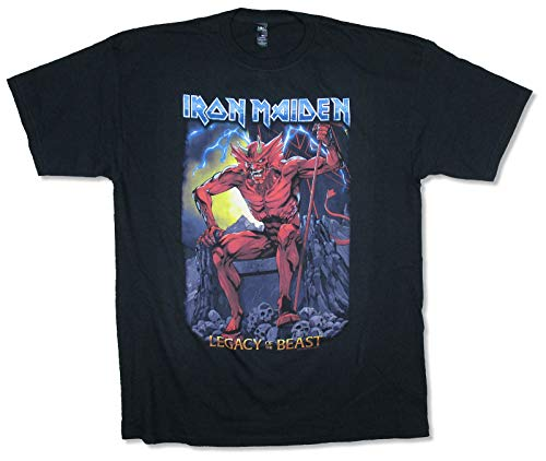 Iron Maiden Legacy of The Beast Black T Shirt (S) (Iron Maiden Legacy Of The Beast Redeem Code)