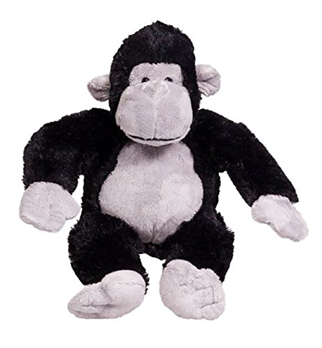 Cuddly Soft 8 inch Stuffed Silverback The Gorilla...We Stuff 'em...You Love 'em! from Stuffems Toy Shop
