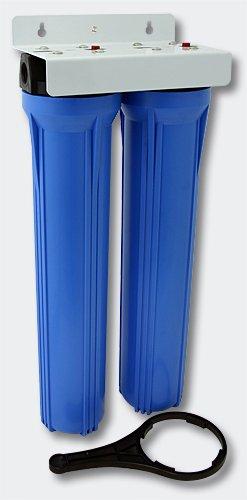 NW-BRK02 Filtro de agua de 2 etapas de 20 pulgadas - 508mm Filtro de sedimentos de 5µ