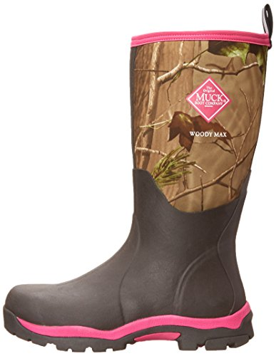 Muck Boot Womens Woody Pk Hunting Shoes, Bark/Realtree/Hot Pink, 8 US/8-8.5 M US by Muck Boot (Image #5)