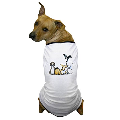 CafePress - Italian Greyhound Trio Dog T-Shirt - Dog T-Shirt, Pet Clothing, Funny Dog Costume]()
