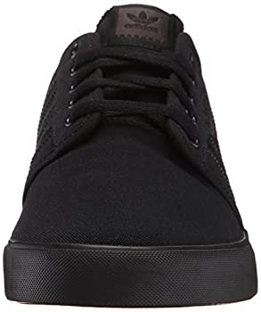 Adidas Men's Seeley Skate Shoe,blackblackblack,9 M Us 3
