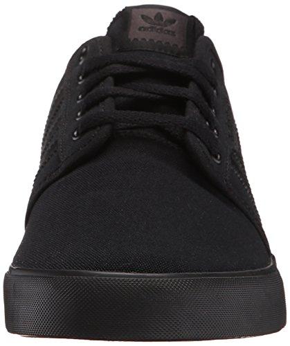 Adidas Originals Männer Seeley Skate Schuh Schwarz / Schwarz / Schwarz