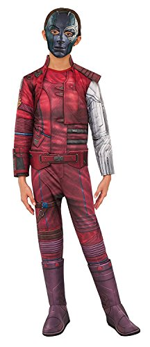 Rubie's Costume Guardians Of The Galaxy Vol. 2 Child's Deluxe Nebula Costume, Multicolor, Medium