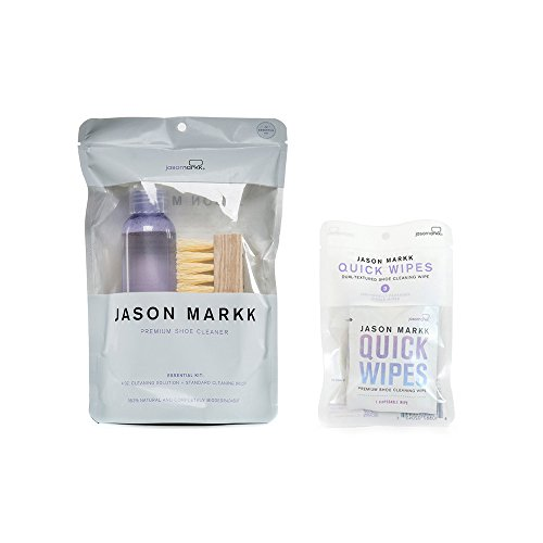 Jason Markk Essential Kit PLUS Set of 3 Pack Quick Wipes ()