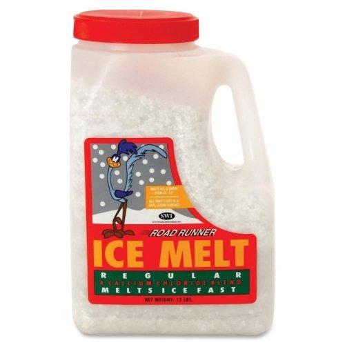 (Wholesale CASE of 20 - Scotwood Road Runner Ice Melt-Ice Melt, w/Calcium Chlorine Blend, 12lb, White)