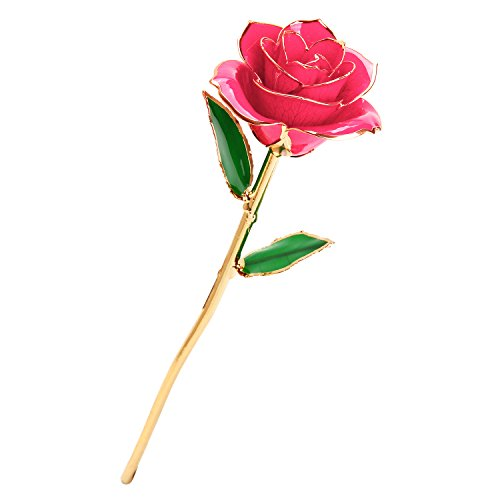 Pink Rose Gold Flower - 3