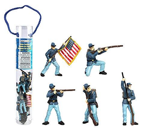 Safari Ltd  Designer TOOBS Civil War Union Soldiers Collection #1 Civil War Miniature Soldiers