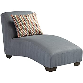 ashley furniture signature design hannin chaise curved sofa chaise gray lagoon