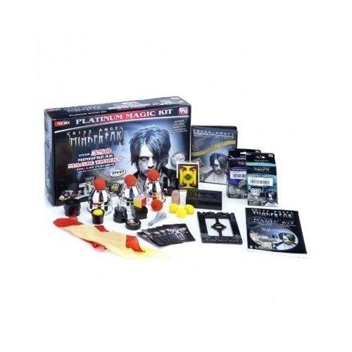 Criss Angel Mindfreak Platinum Magic Trick Kit Illusions Magician Show Black