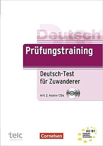 Buy Prufungstraining Daf Deutsch Test Fur Zuwanderer Ubungsbuch