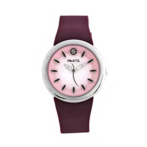 Philip Stein Lychee Women's Casual Rubber Strap Watch - F36S-LY-M