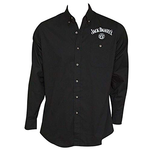 Jack Daniel Embroidered Long Sleeve Men's Button Up for sale  Delivered anywhere in Canada
