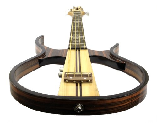 silent bass guitar sandalwood hollow body electric acoustic headphones included acoustic bass. Black Bedroom Furniture Sets. Home Design Ideas