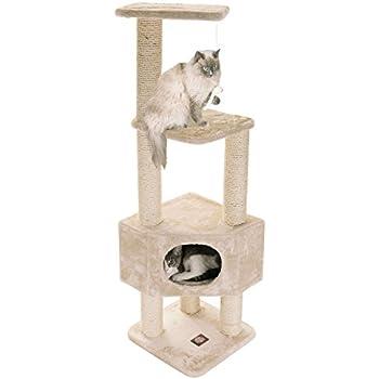 Amazon.com: Majestic Pet Productos 52 pulgadas Beige Casita ...