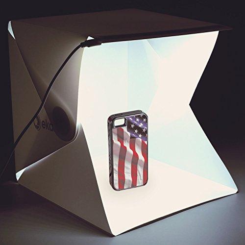 Photo Shadow Box - Mini Photo Box - Portable Photo Studio - Light Photo Tent - Small Photo Booth - Photography Box (Photobox) - Lightbox for Product Photography Kit - Mini Studio - Lighting Box - Mini Photo Booth
