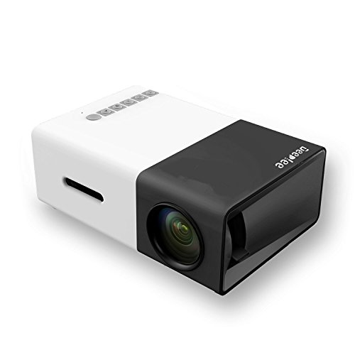 Mini projector portable led projector home cinema theater for Small video projectors reviews