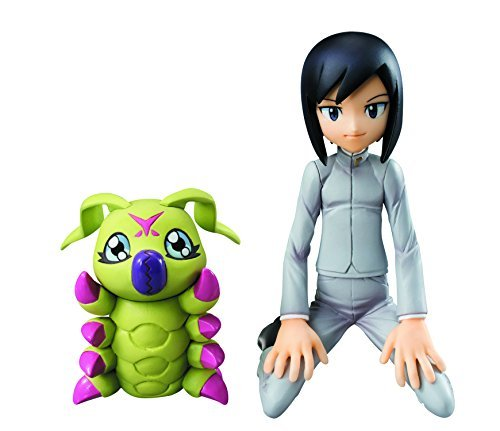 Megahouse Digimon Adventure 02: Ken & Wormmon G.E.M. PVC Figure by Megahouse