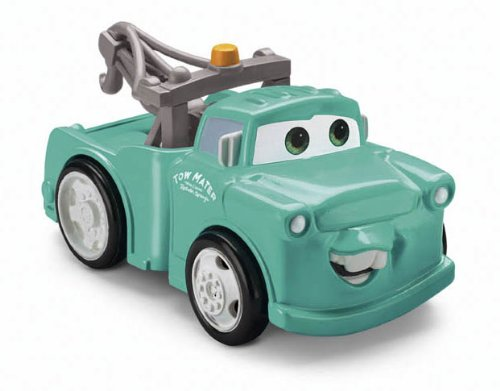 Shaken Go Mater - Fisher-Price Cars Shake N Go Supercharged Mater