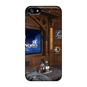 Defender Case For Iphone 5/5s, Room Home Theater Pattern