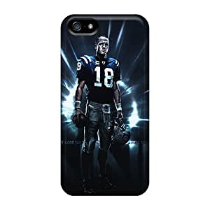 iPhone 6 4.7 Hard Back With Bumper Silicone Gel Tpu Case Cover Indianapolis Colts