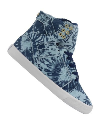 Supra Top Womens Wash In Sneakers Skytop Navyblue White High 54jL3RA