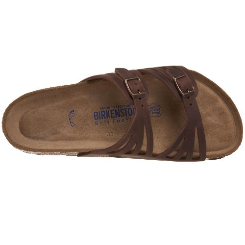 Birkenstock Women's Granada Soft Footbed Sandal,Habana Oiled Leather,38 M EU by Birkenstock (Image #7)