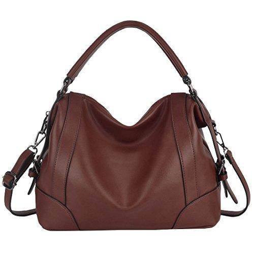 Ladies Handbags,ZMSnow Top Handle Fashion Purses Crossbody Bags for Women Girls (3.Coffee) by ZMSnow