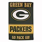 """Master Industries Green Bay Packers Sublimated Cotton Towel - 16"""" x 25"""""""