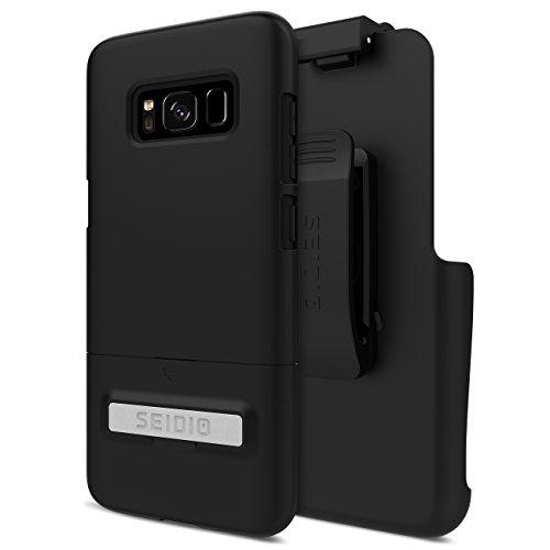 Seidio Phone Cases (Seidio SURFACE Combo for Samsung Galaxy S8 - Black)