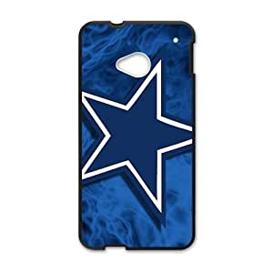 DAZHAHUI Blue unique star Cell Phone Case for HTC One M7 by icecream design