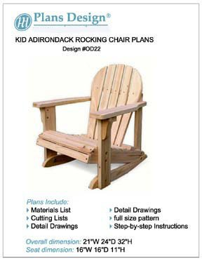 Rocking Chair Plan - 5