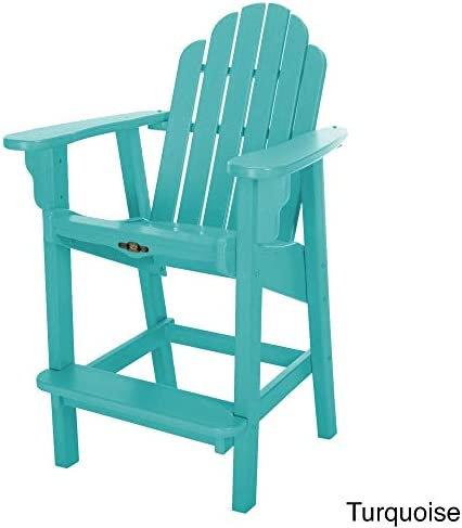 Pawley s Island Essentials Counter Height Adirondack Chair Blue