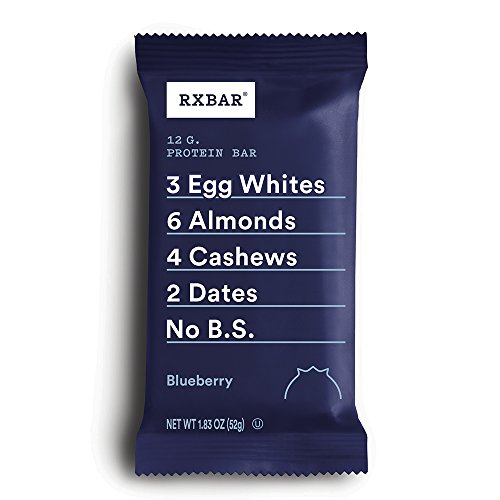RXBAR, Maple Sea Salt, Protein Bar, 1.83 Ounce Pack of 12 , High Protein Snack, Gluten Free