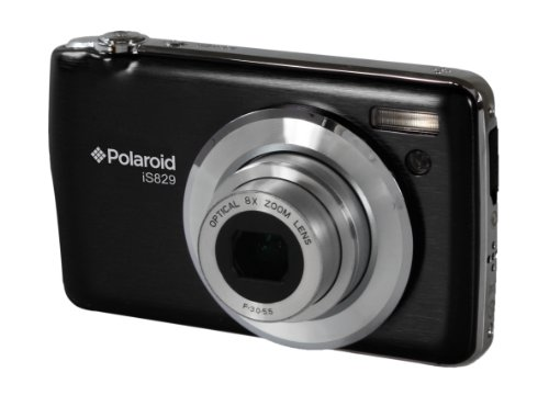 Polaroid IS829-BLK-PR 16 Digital Camera with 2.7-Inch LCD (Black)