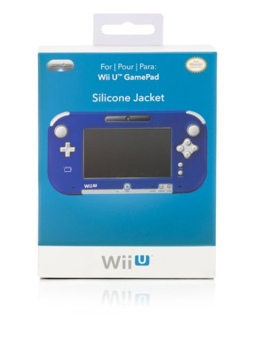 Wii U Gamepad Silicone Jacket - Blue