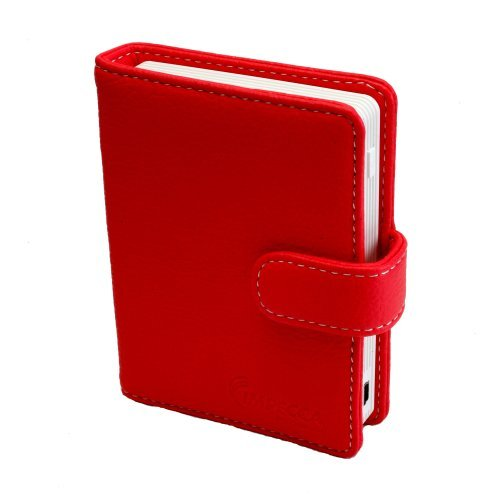 3.5-inch Touch Screen Digital Photo Album - Red