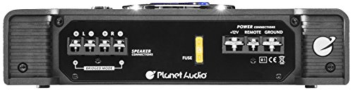 Planet Audio AC600.2 2 Channel Car Amplifier - 600 Watts, Full Range, Class A/B, 2-4 Ohm Stable, Mosfet Power Supply, Bridgeable