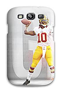 Durable Defender Case For Galaxy S3 Tpu Cover(robert Griffin Iii)