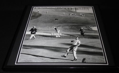 Arnold Palmer 1960 US Open Framed 12x12 Photo Poster by Steel City Galleries