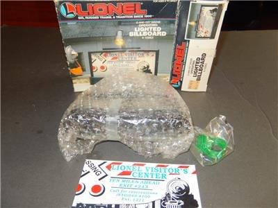 MPC - - LIGHTED BILLBOARD ACCESSORY - 0/027 - LIONEL 12882