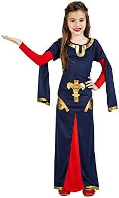 Disfraz de Dama Medieval Carta para niña: Amazon.es: Juguetes y juegos