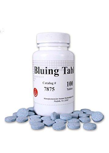 Bluing Tablet Instant 100/Bottle - Turn Toilet Water Blue for Drug Screens, Prevents Test Adulteration, Ensures Sample Integrity - 1 Bottle