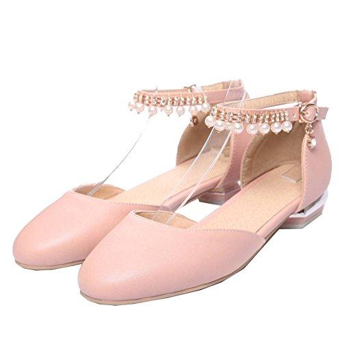 de Bohemia sandalias verano Casual y rosa estilo SJJH con para cómodas Flats primavera x6CRIq