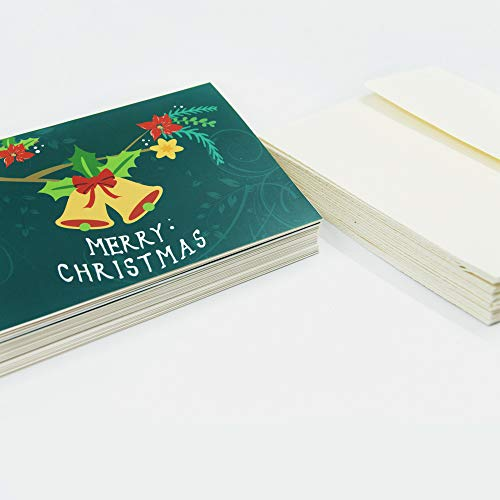Christmas Cards Greeting Cards, Pop Up Cards, 3D Greeting Card (Green) Photo #4