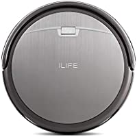 ILIFE A4s Robot Vacuum Cleaner with Powerful Suction and Remote Control, Super Quiet Design for Thin Carpet and Hard Floors