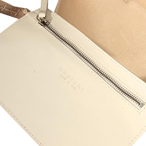 Borsa Donna 51525 No Shopping Orciani Women Bag Bianco Dustabag aPPfqwxd