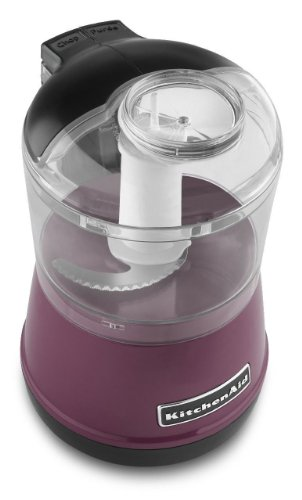 Kitchenaid Kfc3511 Kfc3511by 3.5 Cup Food Chopper Processor Boysenberry Gift for Your Family