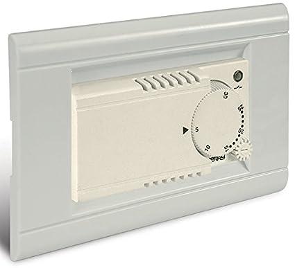 Perry-Termostato electrónico empotrar 1TITE601B módulo h 35 mm, 3 tomas, 230 V